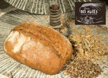Pain aux graines lin-tournesol bio