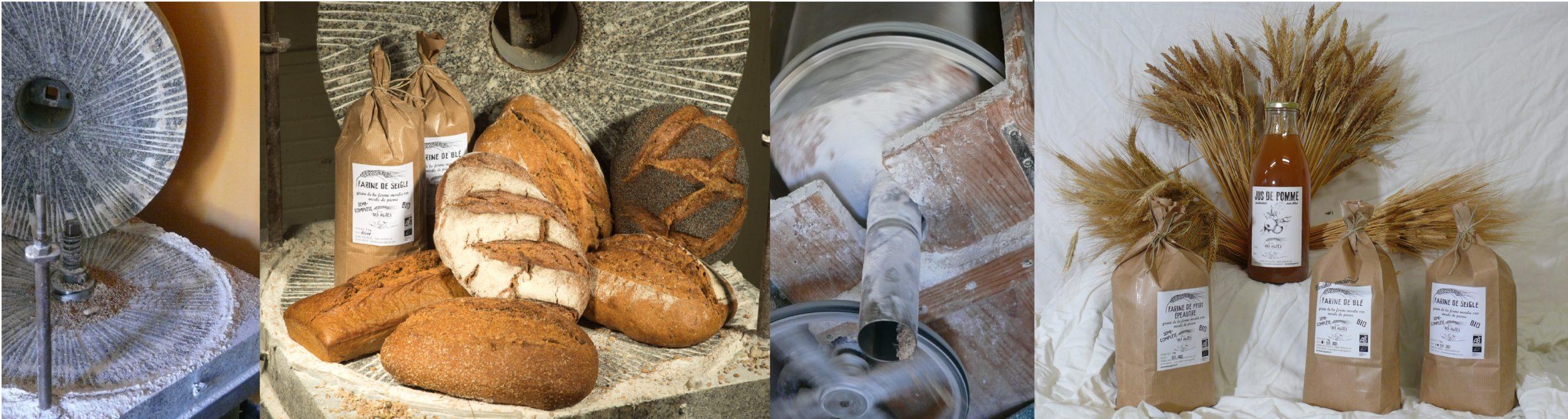 Agriculteur boulanger bio jura